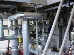 Glaswolle-Rohrleitungen